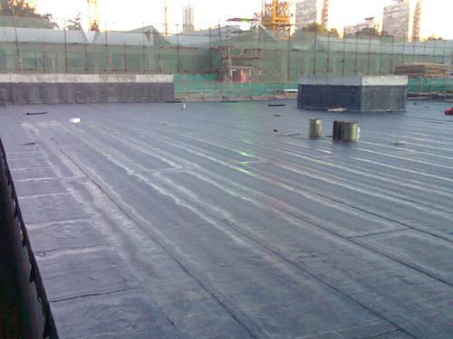 良口镇良新村楼盘屋顶防水补漏项目