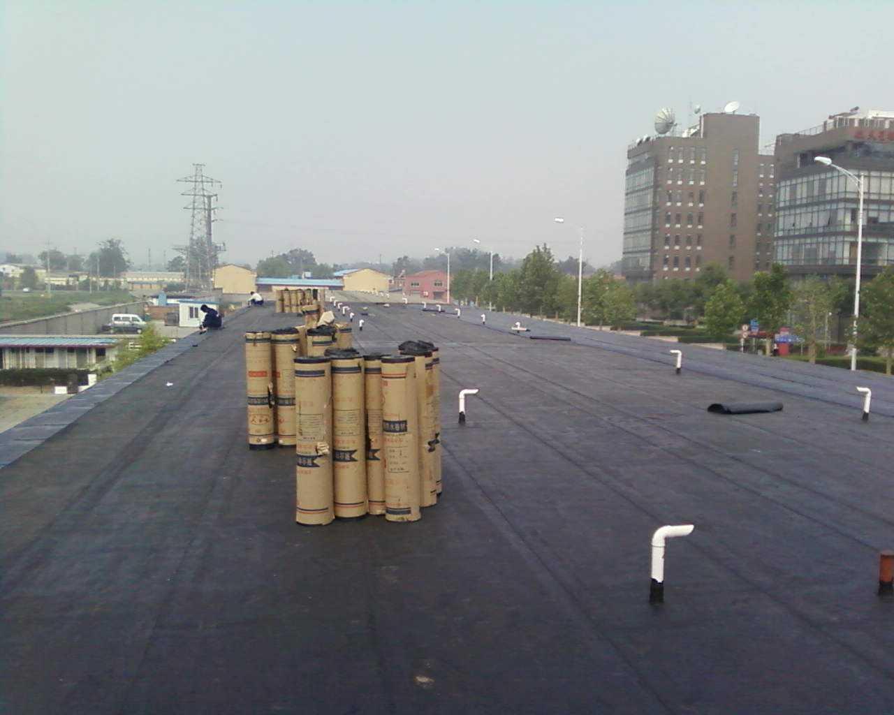 太平镇屋顶漏水补漏工程