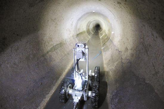花都区新华街道机器人管道检测