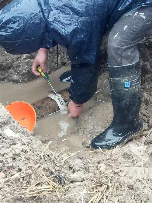 从化温泉镇用水管道检测维修