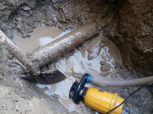 从化城郊街排水排污管道及用水管道检测维修