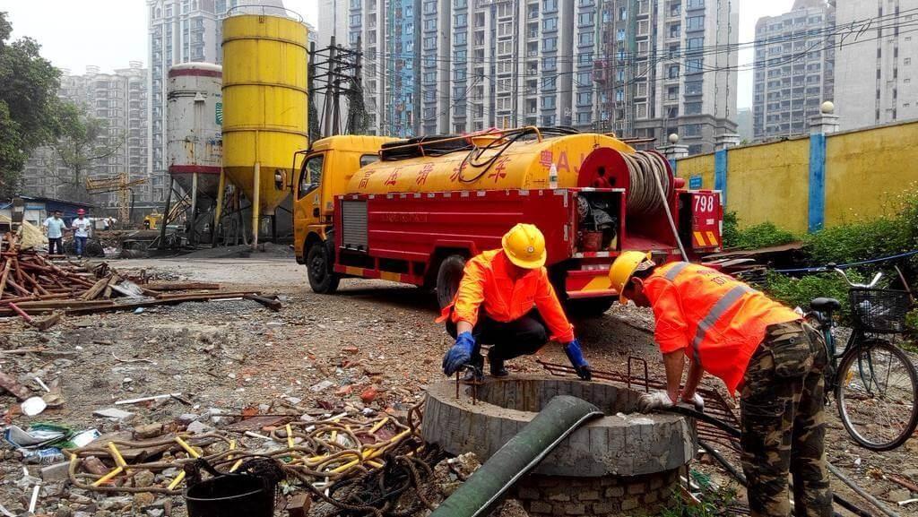 从化污水管井疏通清洗
