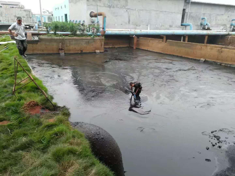 从化厂区污水池清理