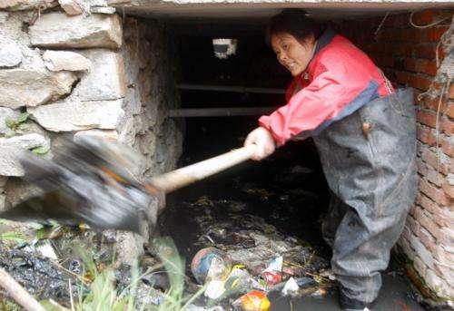 从化管渠生活垃圾清理
